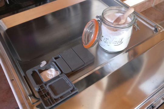 Poudre lave vaisselle